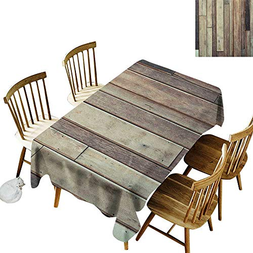 Hall rectangular tablecloth W54