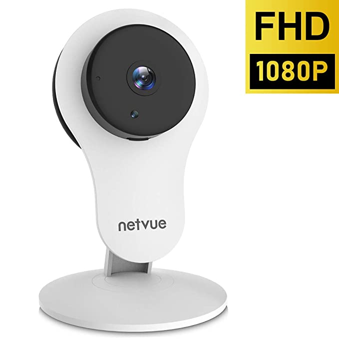Indoor Camera, 1080P Home Security Camera (2nd Generation) - Wireless Camera with Motion Detection, Cloud Storage 24s Smart-Clip, Two Way Audio, Night Vision Indoor Security Camera Alexa Compatible best home security IP camera