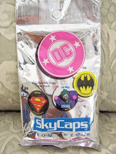 1993 DC Skycaps (Pog) 6-Cap Pack