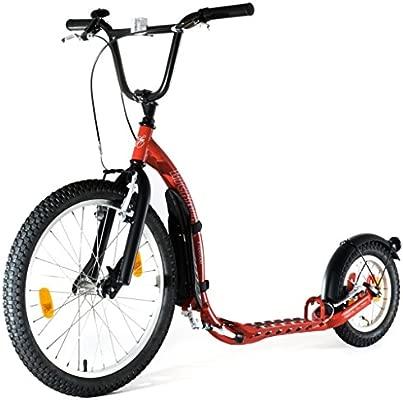 Kickbike Patinete bicicleta G4 rojo: Amazon.es: Deportes y ...