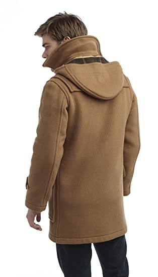 Original Montgomery Mens London Duffle Coat at Amazon Mens Clothing store: Wool Outerwear Coats