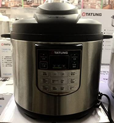 TATUNG TPC6L 10 Cup Electric Pressure Cooker by TATUNG