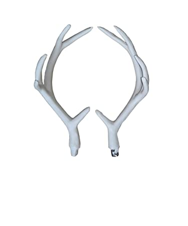 Amazon.com  ZILIN 17CM Artificial White Deer Antlers a Pair Wall ... 92649d921669
