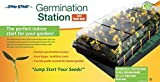 "Hydrofarm Jump Start,CK64050 Germination Station w/Heat Mat, Tray, 72-Cell Pack, 2"" Dome"