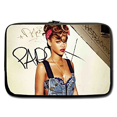 Rihanna We Found Love Custom computer Sleeve Laptop sleeve For Macbook Pro 11inch (Twin Sides)