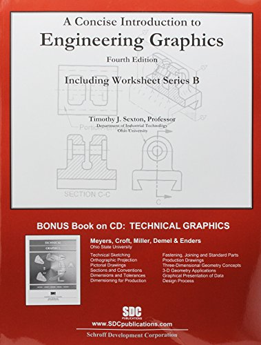 A Concise Introduction to Engineering Graphics (4th edition) with Workbook B