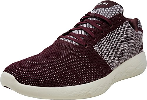 Burgundy Ankle Go Skechers Run Shoe High 600 Running Arise Men's zCvvwUq