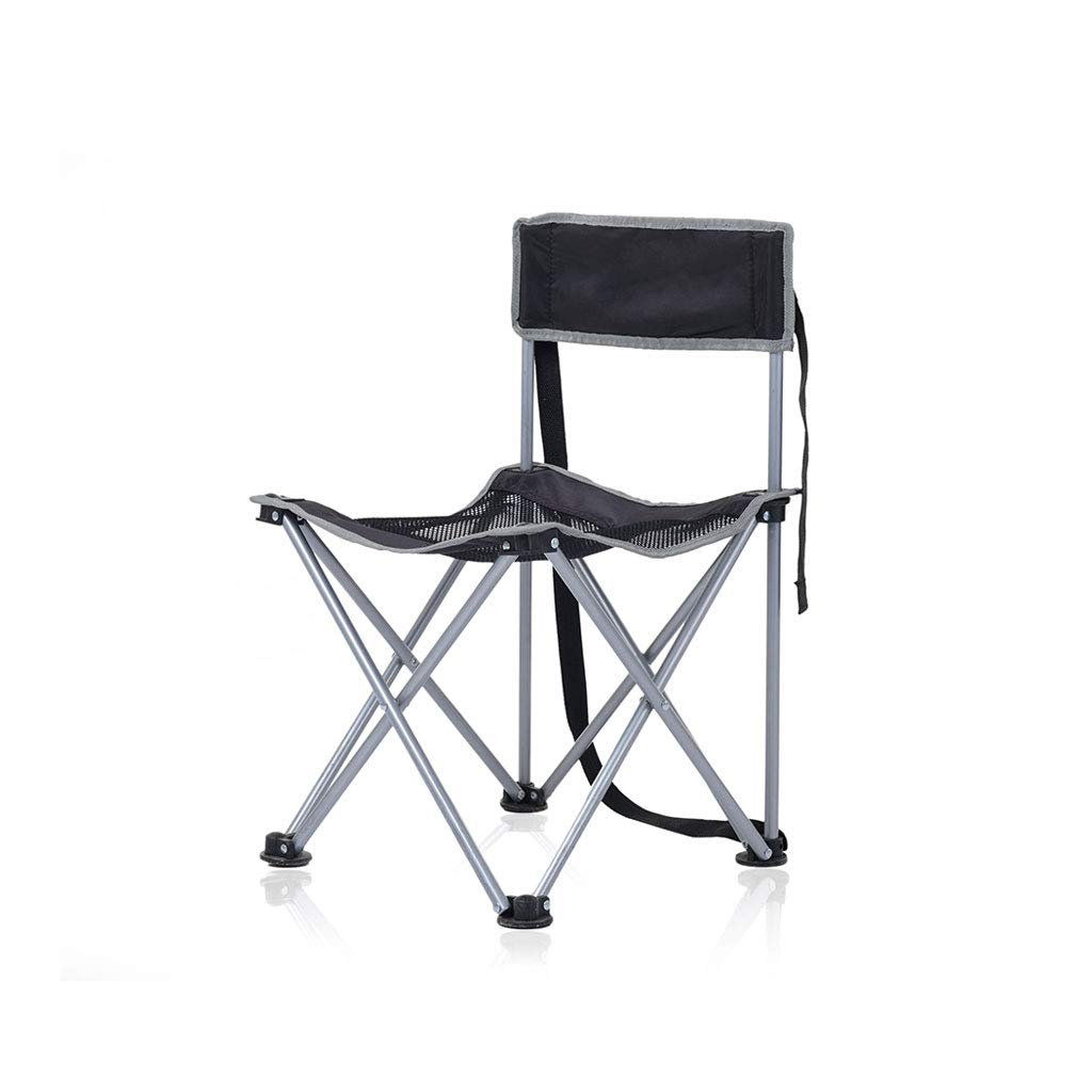 Kaiyu Outdoor Stuhl Klappstuhl Portable Angeln Stuhl Skizze Stuhl Grill Camping Stuhl Strandkorb 37x37x57cm