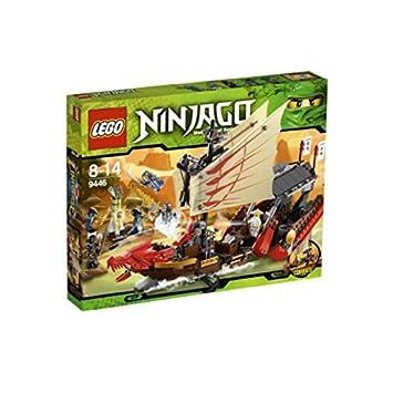 LEGO Ninjago - Barco de Asalto Ninja, Juguete de Construcción de Aventuras (9446)