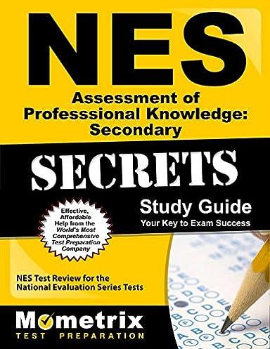 nes assessment of professional knowledge secondary secrets study rh amazon com NES Elementary Education Subtest 1 NES Test Registration