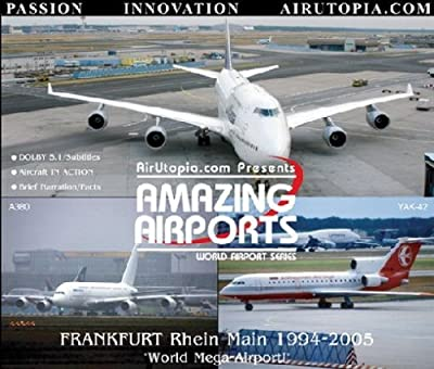 AirUtopia : The First A380 at FRANKFURT Airport Video DVD-(Airport, airliner, plane, airplane, aircraft FILM)NEW! by David Maxwell
