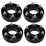 4pcs 2'' 5x5 to 6x5.5 Wheel Adapter Spacer 6 lug wheels onto a 5 lug truck Chevy