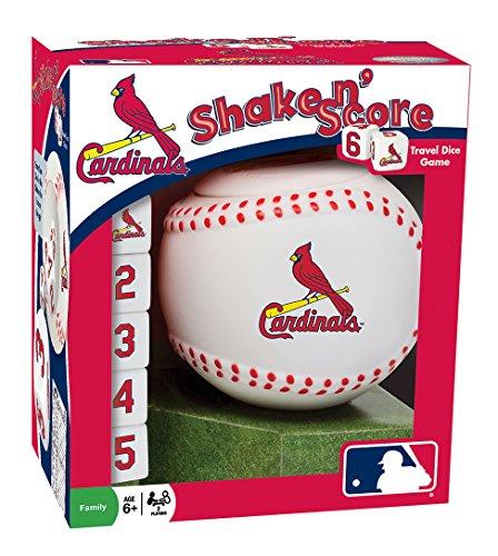 MLB St. Louis Cardinals Shake 'n Score Dice Game