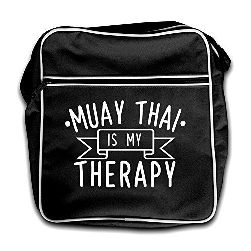 Black Is Muaythai My Bag Therapy Retro Flight nvnzCBwq
