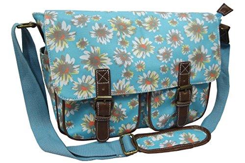 University Blue Satchel Light Daisy School Daisy Bag Spot Anna Bag Girls Medium Size Body Ladies Cross Shoulder Floral Smith Flower Polka City Girl Print Dot xFw8qSaZg