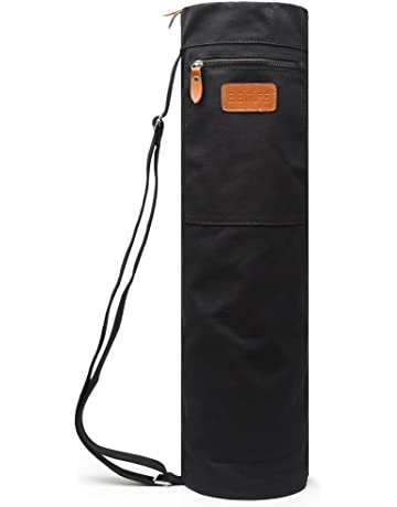 8039f97da5 ELENTURE Full-Zip Exercise Yoga Mat Carry Bag with Multi-Functional Storage  Pockets