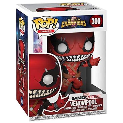 Funko POP! Games: Marvel - Contest of Champions - Venompool Collectible Figure, Multicolor, Standard