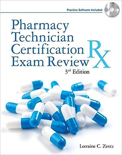 Pharmacy Technician Certification Exam Review (Delmar\'s Pharmacy ...