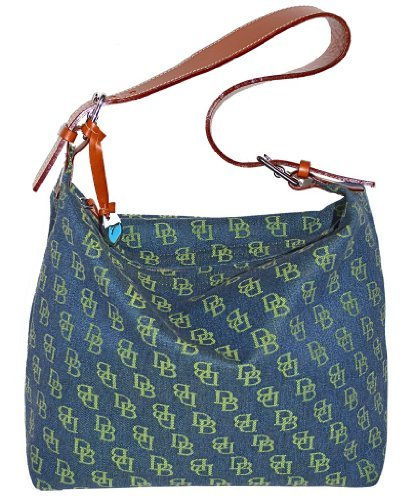 Dooney & Bourke Small Shoulder Sac - Denim