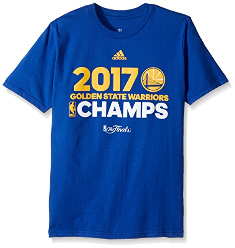 NBA Golden State Warriors Boys -Team Effort Short Sleeve Tee, Royal, S(8) by NBA by Outerstuff