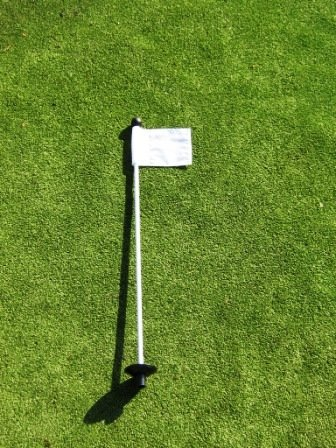 "Golf - Putting Green -  30"" Practice Green Pin Marker w/ Eas"