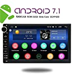 EinCar 7 Inch Car Stereo Android 7.1 2GB 32GB Head Unit Double Din