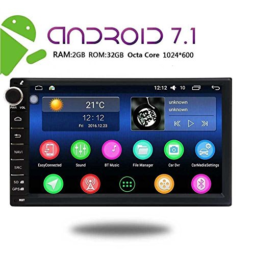 New Arrival - EinCar 7 Inch Car Stereo Android 7.1 2GB 32GB