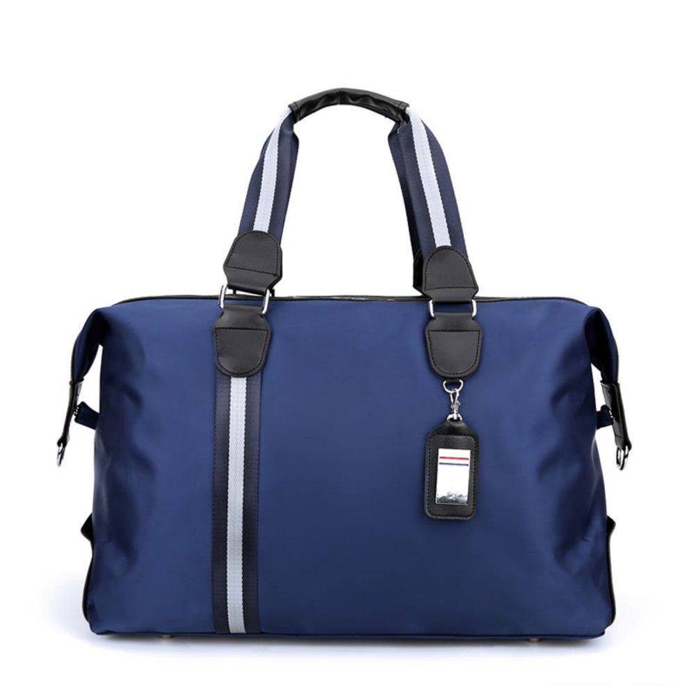 Waterproof tote bag bulk-bag business travel short trip package-Blue
