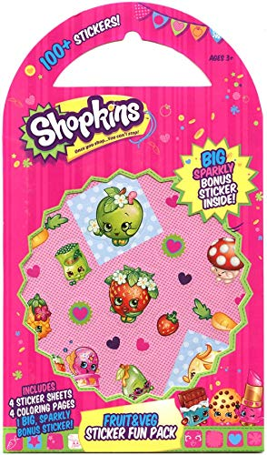 by Mrs Grossman Mrs Grossman/'s Paper Co Shopkins All Mixed Up Fun Pack of 100 Stickers
