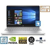 "HP 15.6"" Full HD Touch 8th Gen Core i7-8850U 16GB NVIDIA 4GB Win 10 Pro Laptop (Certified Refurbished)"
