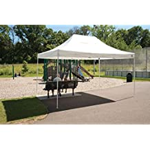 Truss Pro Pop-up Canopy 10 X 15 Ft (White) with Wheeled Storage Bag