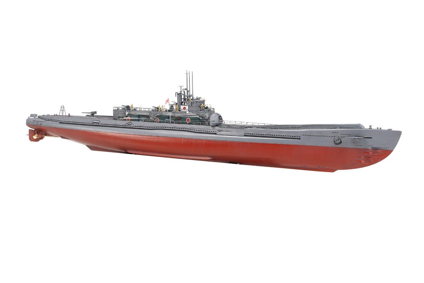 タミヤ スケール限定商品 1/350 日本海軍 特型潜水艦 伊-400 スペシャルエディション 89776 B001E43UQW