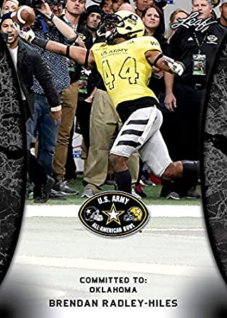 Image Unavailable. Image not available for. Color  10 ct lot Brendan Radley  Hiles 2018 Leaf US Army All American Rookie Cards 4b2f63e9c
