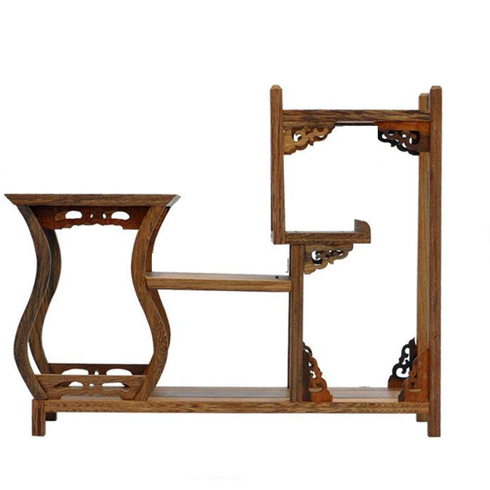 NWFashion Chinese Wooden Assemble Display Stand Home Decoration Curio Cabinets Shel (1) by NWFashion