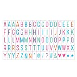 Baoblaze DIY Letters Cards of A4/A5/A6 Light box Colored Symbols Letters Combination Card letters for LED Night Light Box Cinematic LED Porch Light Up Sign Box Lightbox Message Board Cinema LED Letter Symbol Home Party Wedding Lamp Decor