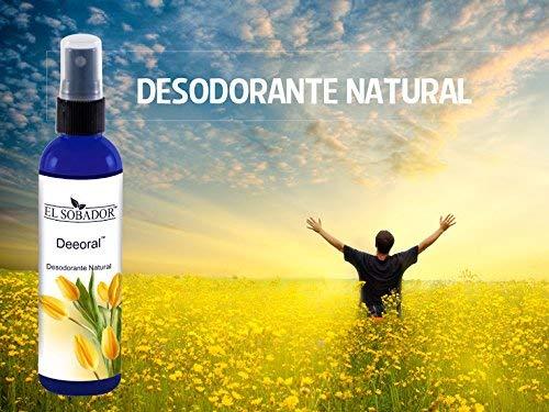 Amazon.com: Desodorante natural en Spray – Para hombre, mujer y niños – Reduce el mal olor de axilas y pies – Sin aluminio - Cosmética vegana by El Sobador ...