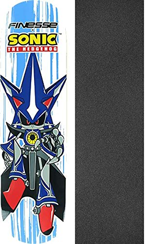 Finesse Skateboards Sega Neo Sonic Hedgehog Skateboard Deck - 8