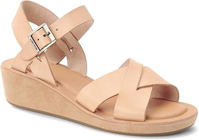 976a722eba27 Kork-Ease Women s Myrna Buff on Suede Wedge Sandal