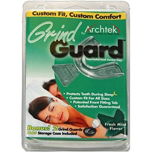 Mint Flavor Grind Guard 2 Pack by Archtek (6 Pack) by Archtek