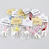 Airgoesin 10pcs Dental Cell Phone Chain Hang Rope Strap Ring For Dentist Team Gift Tooth