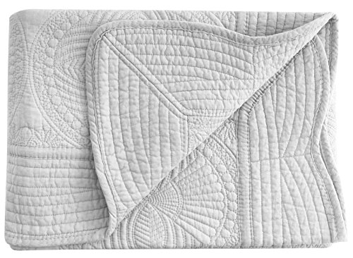 "Toddler Kids Bed Blanket Crib Baby Quilt Lightweight Cotton Embossed 36/""x46/"""