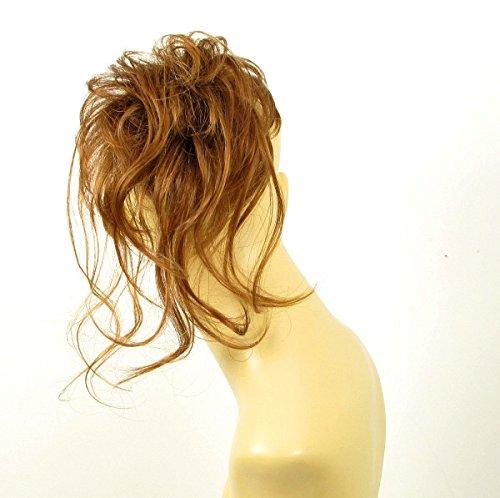 chouchou peruk cheveux blond foncé cuivré ref: 22 en g27 univers perruque