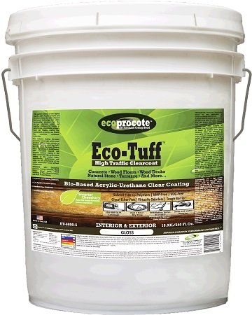 Eco-Tuff ET-6800-5 High Traffic Clear Coat Gloss 5 Gal