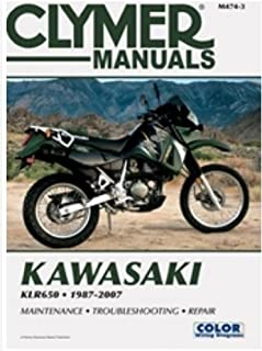 amazon com clymer kawasaki shop manual automotive rh amazon com