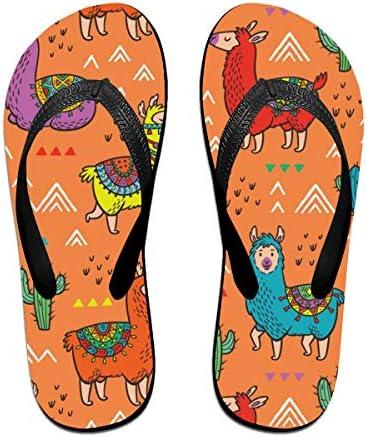 ビーチシューズ ラマ 駱駝 動物 ビーチサンダル 島ぞうり 夏 サンダル ベランダ 痛くない 滑り止め カジュアル シンプル おしゃれ 柔らかい 軽量 人気 室内履き アウトドア 海 プール リゾート ユニセックス