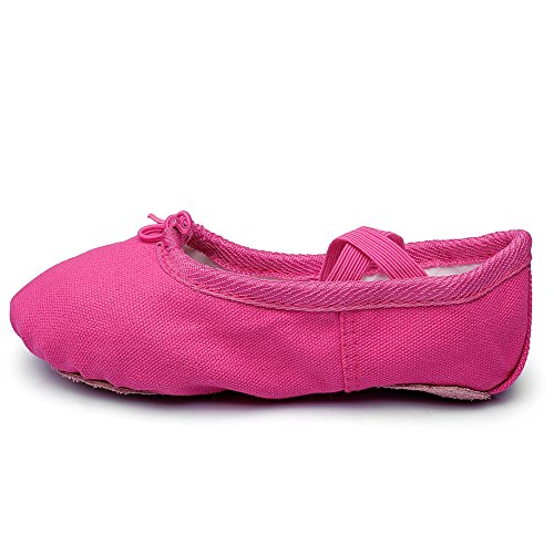 Msmax Klassieke Balletdans Vlakke Yogapraktijkschoenen Rose