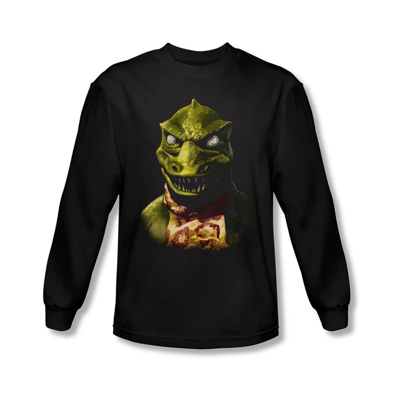 Star Trek - Mens Gorn Bust Long Sleeve Shirt In Black
