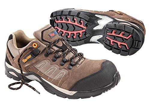Footguard Marrone Mens Suede Sierra Trail Xt Low Eh Ct Oxford Scarpe Da Lavoro Marrone
