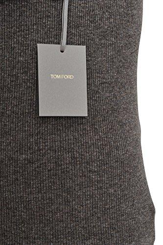 Tom Ford Tshirt Twill Dunkelgrau 48