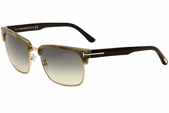 a586cddf77 Sunglasses Tom Ford RIVER TF 367 FT 60B beige horn gradient smoke at ...
